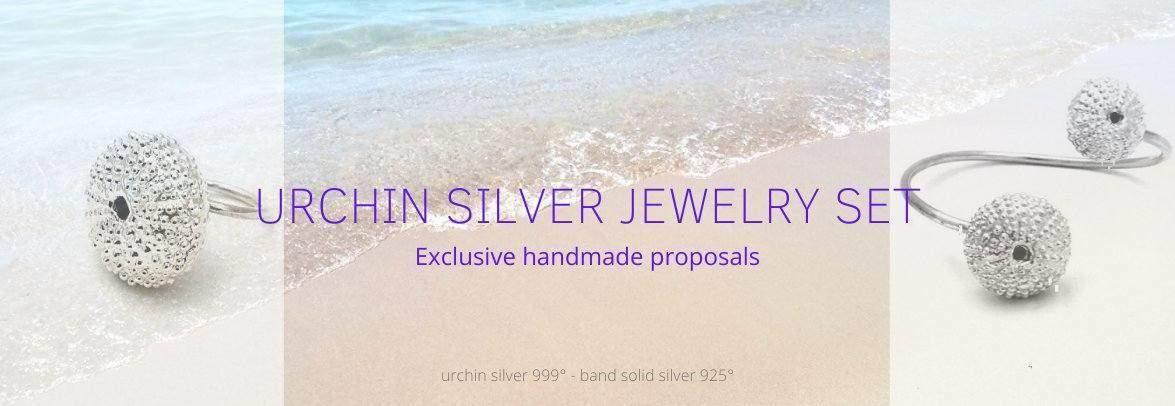 Urchin Silver Jewel Set