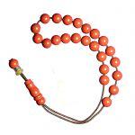 Worry bead, made of jasper stones.