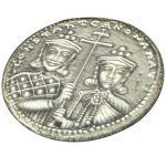 """""""Constantinato"""" lucky coin, Silver 925°."""