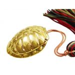 Turtle Lucky Charm, 24K Gold-plated Brass
