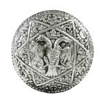 Two-headed Eagle, Paper Weight, Silver-plated