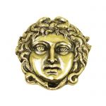 Gorgoneion, Brass, Paper Weight