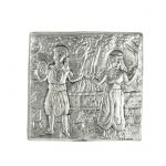 Dance, Theophilos, Silver-plated Paper Weight
