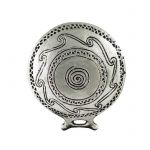 Frying Pan Shape, Silver-plated Paper Weight