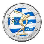 Olympic Games 2004, Coloured & Enameled Commemorative Coin