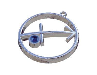 Τοξότης - Σοδάλιθος, Ζώδια, Παντατίφ σε ασήμι 925°.