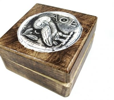 Owl, Wooden box
