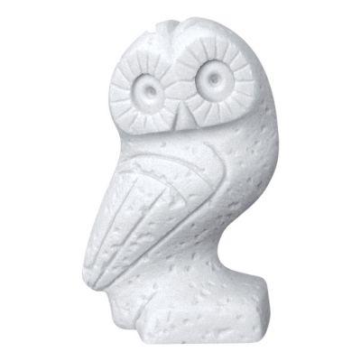 Κουκουβάγια, Άγαλμα κατασκευασμένο από χυτό αλάβαστρο.