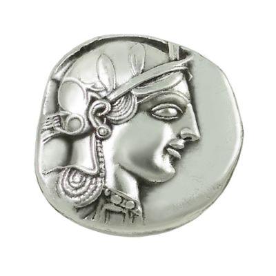 Αργυρό Τετράδραχμο Αθηνών, Επάργυρο αντίγραφο νομίσματος