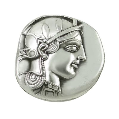 Ancient Coins Set, Silver-plated Brass, Silver tetradrachm of Athens