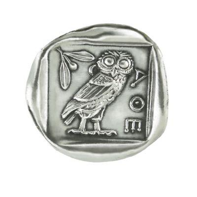 Silver Tetradrachm Coin of Athens, Silver-plated Copy