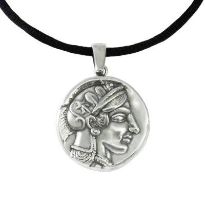 Αθηνά-Αλέξανδρος, Παντατίφ δύο όψεων, με την απεικόνιση της Θεάς Αθηνάς, σε ασήμι 999°.