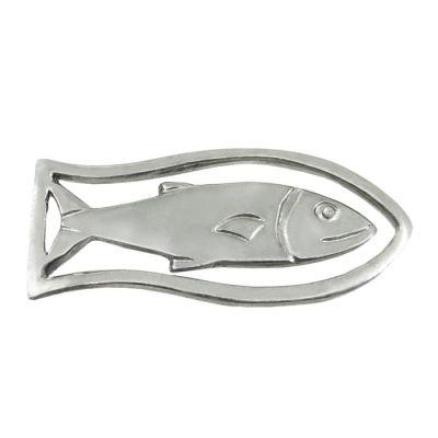 Fish, Bookmark in silver 925°.