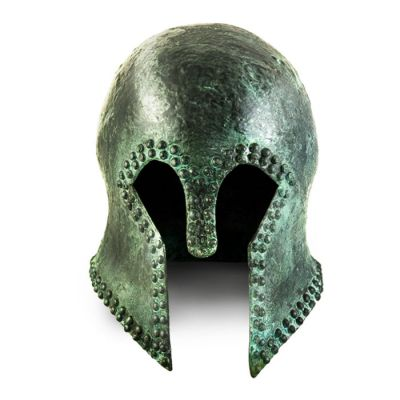Corinthian Copper Helmet with nails, Ancient Olympia