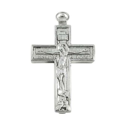 Resurrection - Crucifixion, Cross in silver 999°.