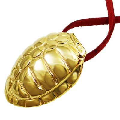 Turtle Pendant, Gold-plated 24K