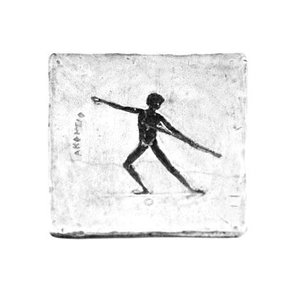 Javelin Throw, Olympic Games, Aluminum Coaster
