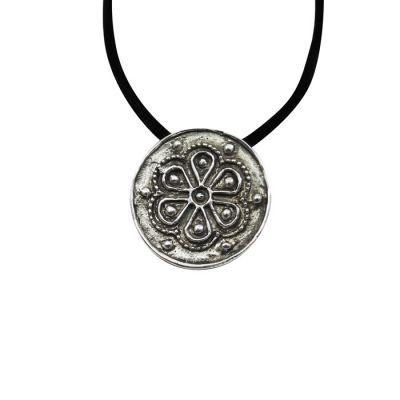 Rodax (Rosette), Pendant, Silver 925°