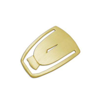 Head of Cycladic Figurine, Gold-plated 24K brass, Bookmark