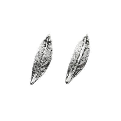Olive Leaf Cufflinks, Masif Silver 925°