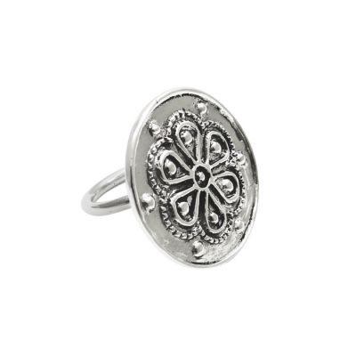Rodax (Rosette), Ring, Silver 925°