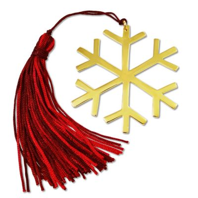 Snowflake, Gold-plated Lucky Charm