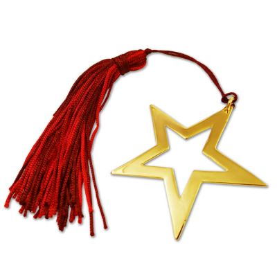 Star, Gold-plated Lucky Charm