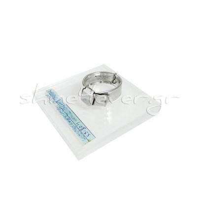 Baby Maternity Bracelet, Silver 999° placed on acrylic base