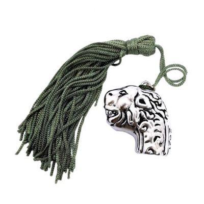 Lion Head Silver Charm 2021