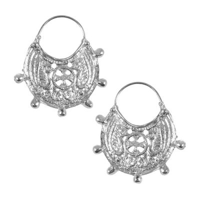 Byzantine Earrings, Silver 999°