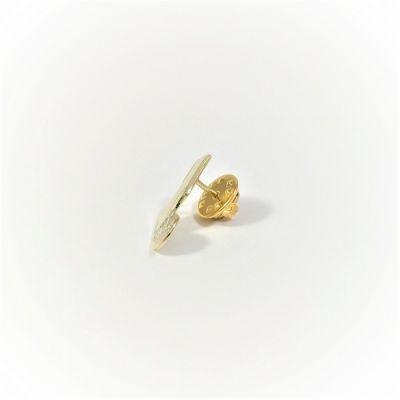 Tsarouchi Pin, in handmade solid brass.