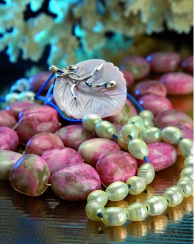 Bead by bead, book album for Kompoloi in Greek